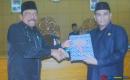 Rapat Paripurna Penyerahan Nota Pengantar Raperda LKPJ 2017 oleh Bupati  Bengkulu Utara,