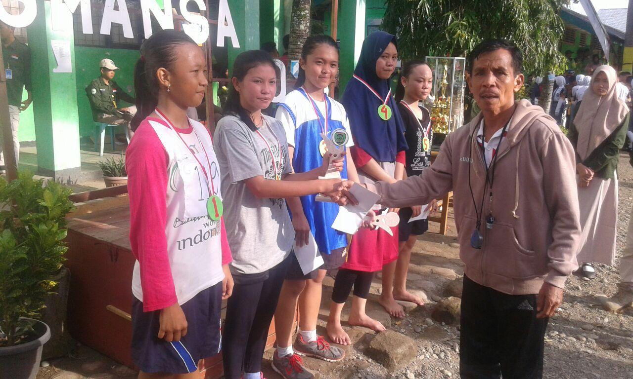 Ini Daftar Pemenang Lomba Dalam Acara HUT Ke-54 SMAN 1 Bengkulu Selatan