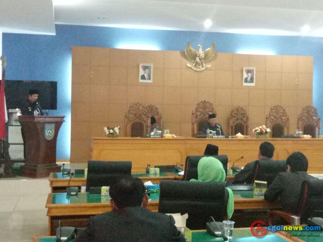 DPRD BU Kritisi Jawabpan Legislatif Dinilai Tidak Tepat Sasaran
