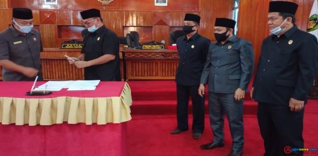 Hasil Temuan Pansus Covid 19 DPRD BS di Tembuskan ke Polda Bengkulu, KPK dan Bawaslu