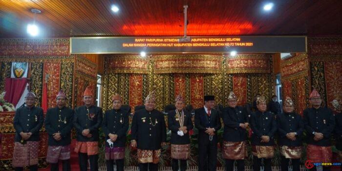 Wakil Gubernur Bengkulu Rosjonsyah ingin Kekompakaan Membangun Daerah