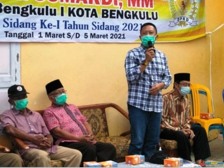 Anggota Dewan Provinsi Bengkulu Sumardi Reses kelurahan Lempuing