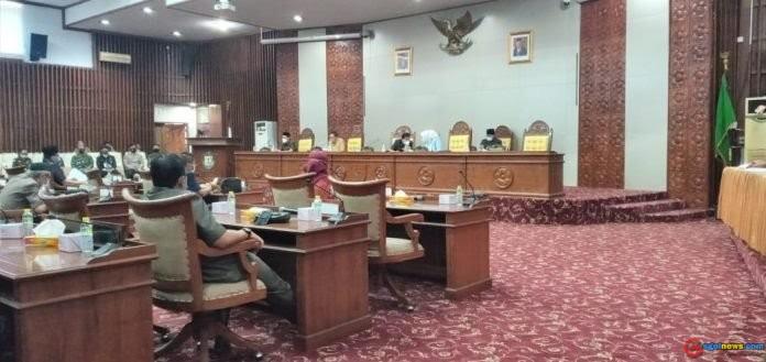 Rapat Paripurna Dalam Rangka Penyampaian Hasil Reses