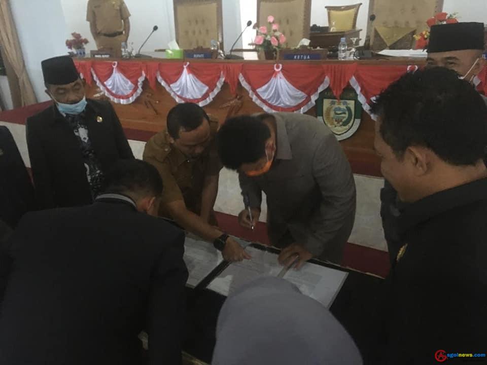 DPRD seluma Gelar Rapat Paripurna, Pembukaan Masa Sidang Ke-ll Tahun 2021