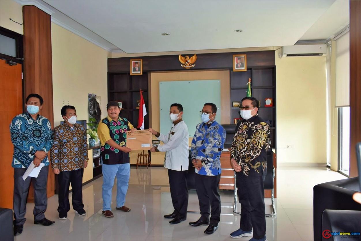 DPRD Provinsi Bengkulu Terima Keputusan Penetapan Hasil Pemilihan Gubernur DanWakil Gubernur