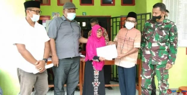 Desa Tambangan Telah Salurkan Bantuan BLT DD Tahap Pertama Di Tahun 2021